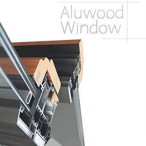 پنجره چوبی دوجداره